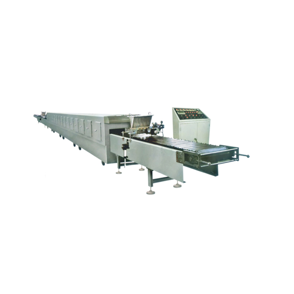 Chocolate Pie/Coated Cake Production Line with Stainless Steel