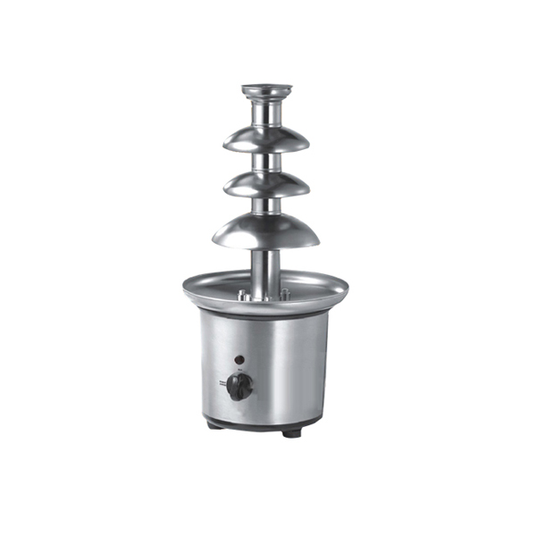 Morden Electric Stainless Steel Chocolate Fountain 4 Tiers Machinery