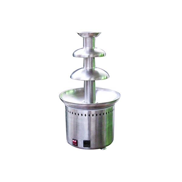 Popular Electric Stainless Steel Chocolate Fountain 3 Tiers Machinery