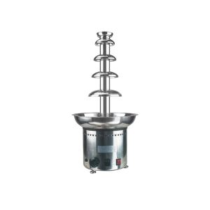 Fashionable Electric Stainless Steel Chocolate Fountain 5 Tiers Machinery