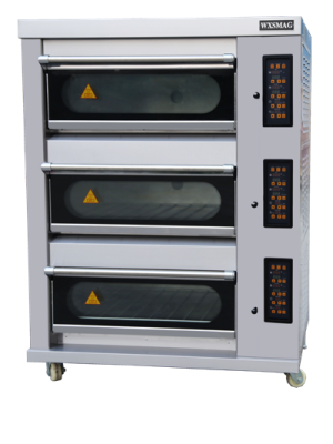 Glass Door Electric Deck Oven